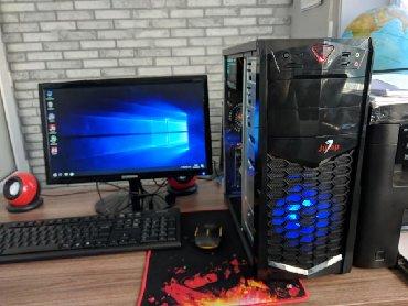 современный компьютер в Кыргызстан: Игровой компьютер i7 с монитором gtx770 / i7 8ядер /ssd / 8gb ram