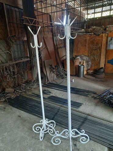 Другая мебель - Кыргызстан: Два вида вешалки эксклюзив с использованием витой трубы и полимерным