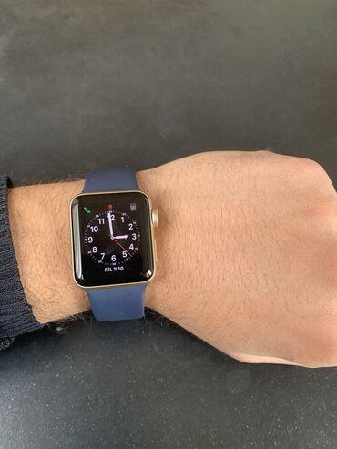 Qızılı Kişi Qol saatları Apple