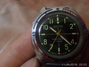 Мужские Черные Армейские Наручные часы Восток в Бишкек