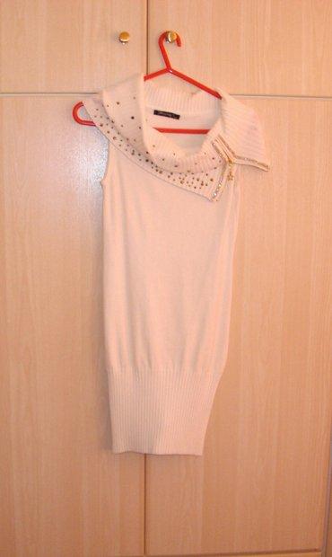 Μπλουζοφόρεμα κρεμ, S/M, αφόρετο (Δώρο το κολάν, Small)   (κωδ. 26) σε Kamatero