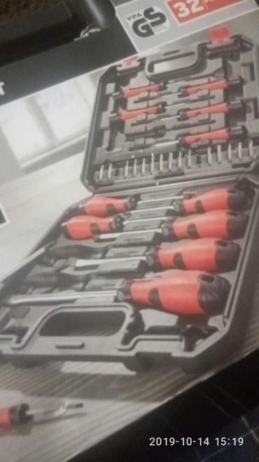 32 delni set šrafcigera napravljen od visoko kvalitetnog