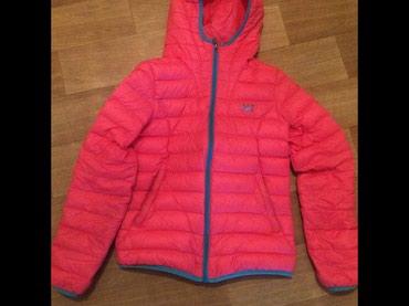 Тонкая тёплая легкая оригинал 361• + сумка для куртка. Размер l в Бишкек