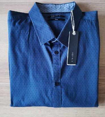ESPRIT plava košulja, polka dots, veličina 45-46 XXL - NOVO   ESPRIT k