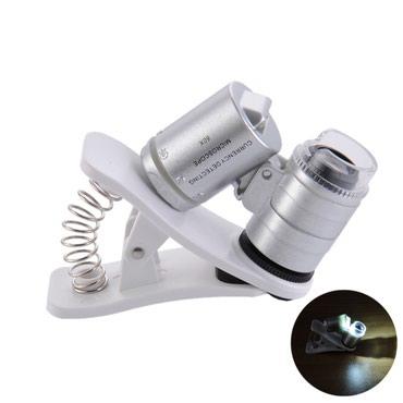 Nov univerzalni mikroskop za mobilni telefon sa uveličanjem 60x. Ima - Belgrade