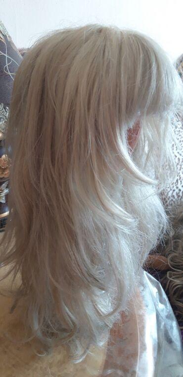 Продам два парика светлого тона . Блонд производство кореяпродам