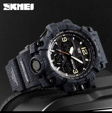 дисплей meizu mx6 в Кыргызстан: Мужские модные часы skmei  кварцевые водонепроницаемые в стиле милитар