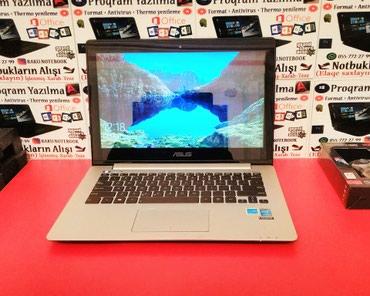 Bakı şəhərində Asus UltraBook + Touch Screen i5 4cü nəsil / Hədiyyəlik- 2 ay