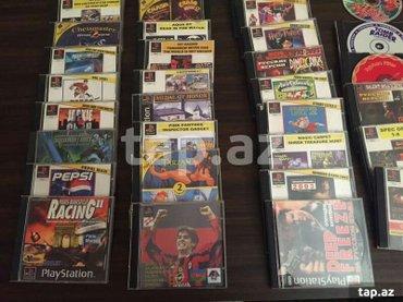Bakı şəhərində Original playstation 1 (sony) diskləri,, 5-6 ildi istifade