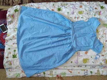 блузка в горошек в Кыргызстан: Продаю платье в горошек, как новое, одето один раз. Размер 46-48. Ц
