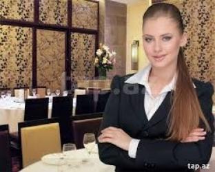 Bakı şəhərində Ailəvi restorana hostes tələb olunur. Xanım və ya bəy fərqi yoxdur. İş
