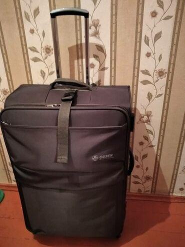 Сумки - Кыргызстан: Продаю очень дешево дорожную сумку рассчитан за 30кг, цвет Хаки