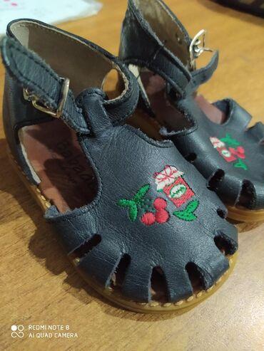 uşaq ayaqqabilar - Azərbaycan: Кожаные сандали 19 размер. Təmiz dəri sandalet. 19 razmeri. ayaqqabı