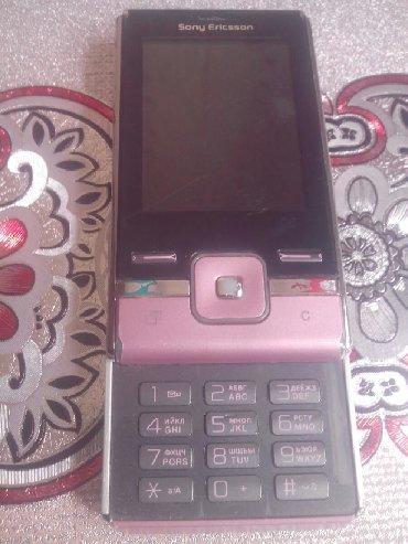 Soni Ericsson t716 tam işləkdir adapteri var yaddaş kartı mikro gedir