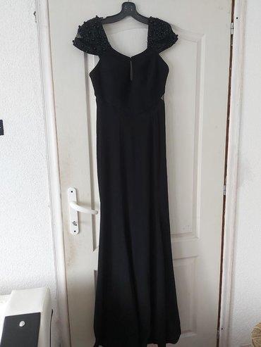 Crna duga svečana haljina, kupljena u Mistery butiku u Kragujevcu