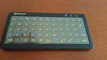 Bakı şəhərində Bluetooth klaviatura Telefon boyukluyundedir. Islenmeyib