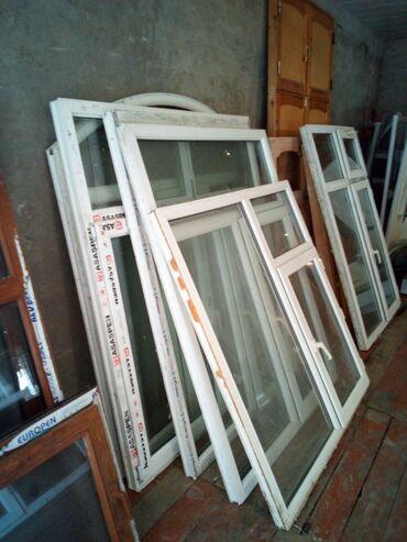 İkinci el pencereler ferqli razmerler munasib qiymetlere UNVAN