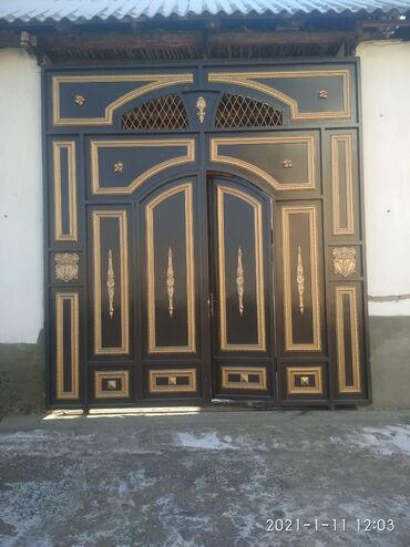 ворота джалал абад в Кыргызстан: ПОКРАСКА ВОРОТА.   ДАРБАЗА КРАСКАЛАЙБЫЗ.  ДЖАЛАЛ_АБАД областы