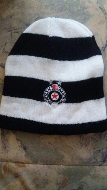 Partizan kacket - Srbija: Partizan kapa