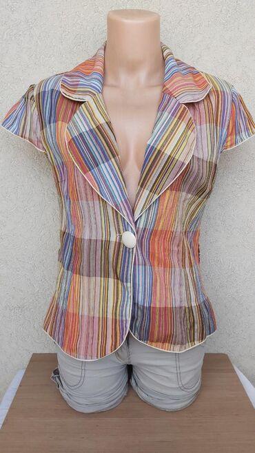 Košulje i bluze | Pozarevac: Zanimljiv letnji sako vel.38Duzina 57cmGrudi 45cmRamena 38cmRukavi