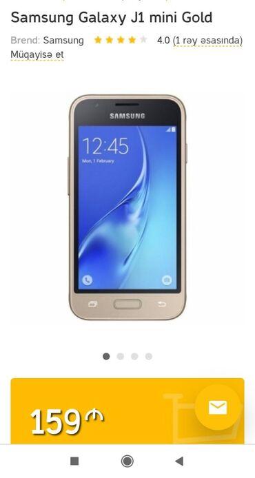 Samsung j1 mini - Azərbaycan: İşlənmiş Samsung Galaxy J1 Mini 8 GB qızılı