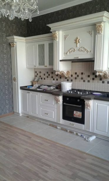 Кухонный гарнитур классика можно на заказ любой размер в Бишкек