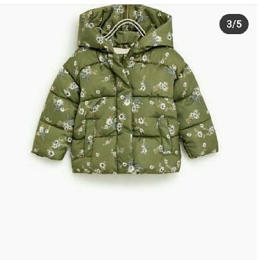 shapka-zara-dlja-devochki в Кыргызстан: Zara куртка. Размер 6-9м Состояние идеальное