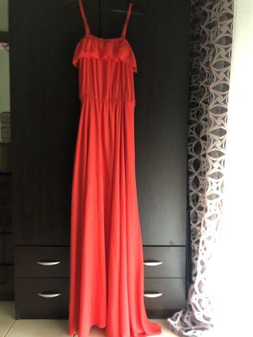 """Μακρύ φόρεμα της εταιρίας """"Passager"""",χρωμα κοραλι,μέγεθος 38"""