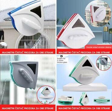 Magnetni čistač prozora za obe strane Nikad lakše istovremeno čišćenje