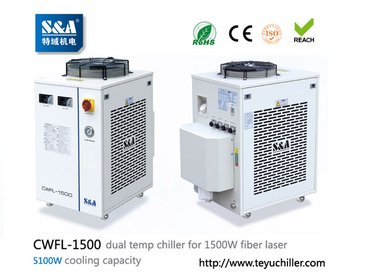 S&A water chiller CWFL-1500 for cooling 1500W metal fiber laser in Kathmandu