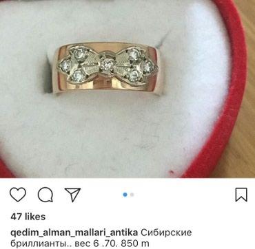 Zərdab şəhərində Qedimi qizil uzuk 583 prob sibir brillinanti