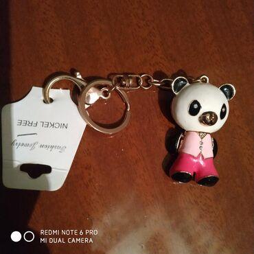 Брелок панда новый