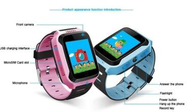 GPS Smartwatch Q528 dečji sat lokator (novo u original kutiji)2999 DIN