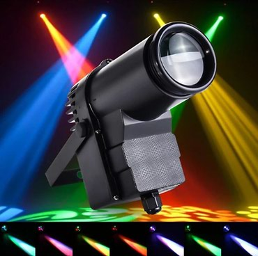 Bakı şəhərində 4-color led pinspot light