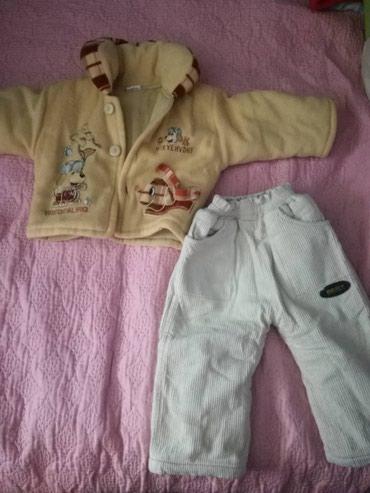 Jakna i termo pantalone vel.80 ocuvano noseno jako malo kao novo. - Beograd