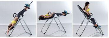 Инверсионные столыМестные и заводскиеВыдерживают вес до 130 кгЕсть