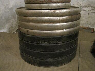 Профессиональные олимпийские блины - резиновые и стальные.Разборные
