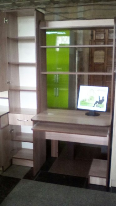 новый ком. стол,размер 1. 3,доставка по городу в Бишкек - фото 2