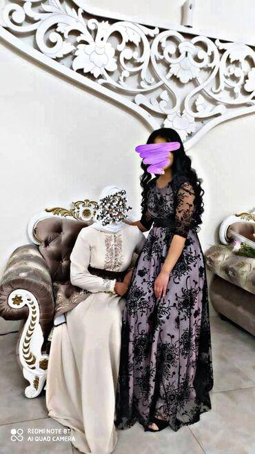 Продаю вот эти 2 платья! Белое можно на кыз узатуу взять!) Надевали