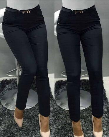 Hit pantalone za vitkiji i puniji stas dostupne u crnoj i teget boji