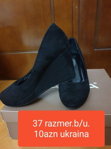 - Azərbaycan: Az geyinilib.37razmer.Ukraynadan alinib.zamşa .rahatdir.baha
