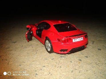 """Model N°60 Maserati """"Gran Turismo"""" MC(Sarı, göy, boz, qırmızı rəngləri"""