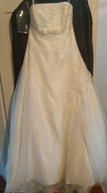 работа-в-дубае-для-кыргызстанцев в Кыргызстан: Продаю Свадебное платье, в комплекте балеро. надевали 1раз. Состояние