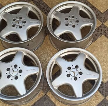 amg диски r17 в Кыргызстан: Диски Mercedes AMGR17 8,5j et30литые разноширокиеоригинал
