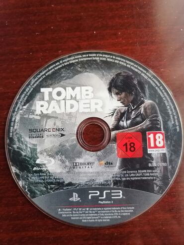 PS3 (Sony PlayStation 3) | Srbija: Tomb Raider samo cd bez kutije