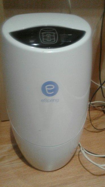 Vovchansk şəhərində Su temizleyen filtr. Mehwur e-spring firmasinin dir. Yenisi 2500 azn