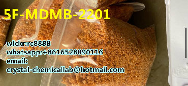 5F-MDMB-2201 orange powder cas:-2,wickr:rc8888