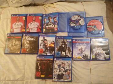 PS4 (Sony Playstation 4) | Srbija: PS4 originalne igra na diskovima- Fifa 20 - 2500 dinara- Fifa 20 bez