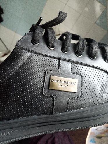 Продаю черные туфли классика и спортивный стиль,Dolce Cabbana, размер