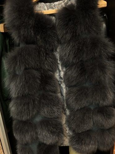 Жилетка меховая писец, размер 42-44. Новая, не носили. в Бишкек